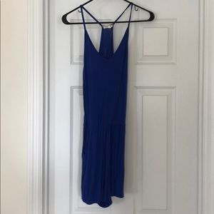 Blue Romper with pockets